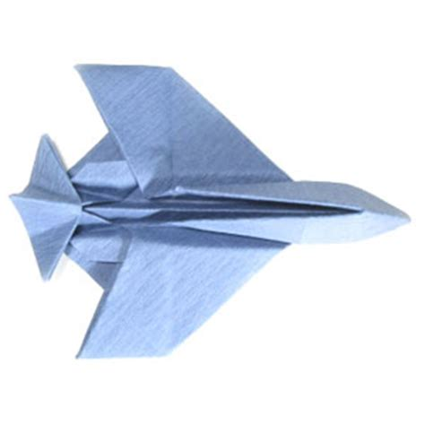 Origami Fighter Plane - how to make an origami airplane fighter jet plane page 32
