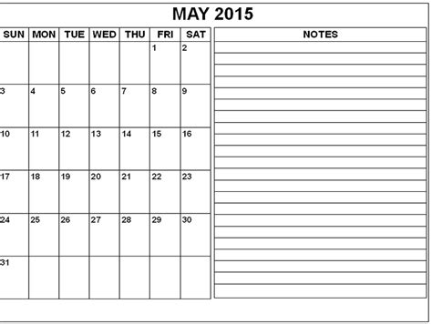 printable monthly calendar for may 2015 image gallery may 2015 calendar printable template