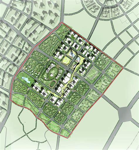 urban layout plan gallery of southern island of creativity chengdu urban