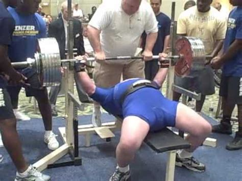 john wall bench press john bogart 749 bench press at 2010 usapl nj states youtube