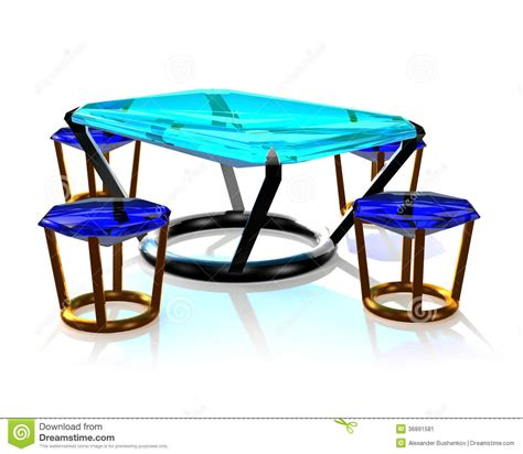jewelry table jewelry table stock image image 36891581