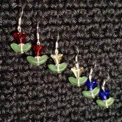 Tulips Earrings tulip earrings 183 capitaine crochet 183 store powered
