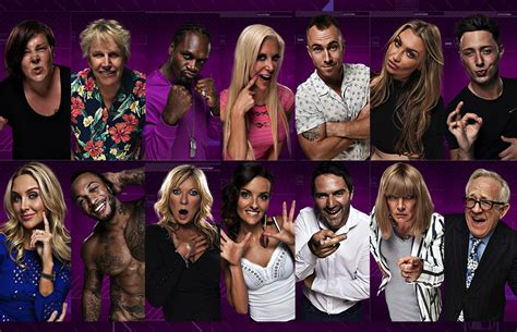 whos on celeb bb celebrity big brother 2014 line up who are the