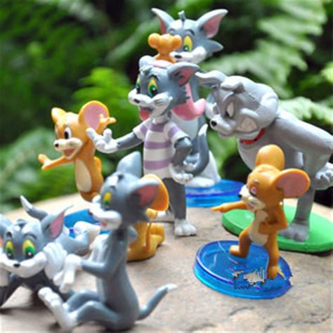 Figure Tom And Jerry tom and jerry figure cat mouse toys set of