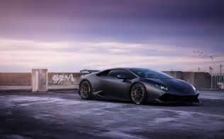 Lamborghini Huracan Wallpapers Lamborghini Huracan On Adv1 Wheels Wallpapers Hd Wallpapers