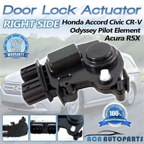 2008 honda pilot door lock actuator honda crv accord odyssey integra door lock actuator front