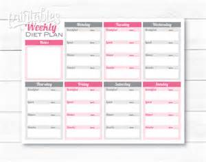 weight loss meal planner template weekly meal planner pdf editable meal planner for weight meal planning template weight loss meal planner tips