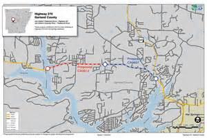 map of garland highway 270 garland county connecting arkansas program