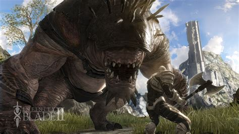 infinity blade on pc infinity blade ii ign s free of the month