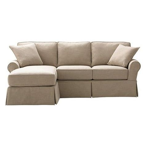 Mayfair Slipcovered Sofa With Chaise Decor Pinterest Slipcovered Sofa With Chaise