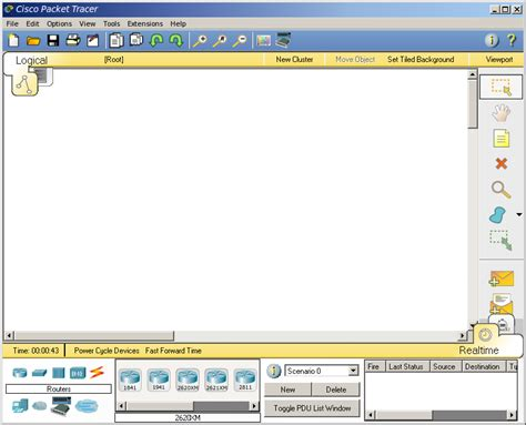 tutorial cisco packet tracer static routing rancangan static routing pada cisco packet tracer