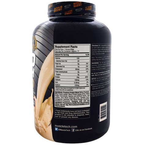 Muscletech Nitrotech Gold 5 5lbs muscletech nitro tech 100 whey gold vanilla creme 5 53 lbs 2 51 kg iherb