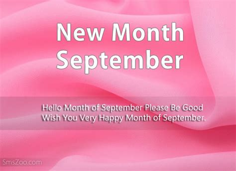 happy  month messages september  sms wishes