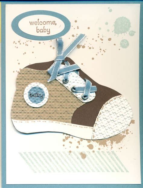 Baby Shoe Template For Card by 117 Best Images About Handmade Baby Cards On