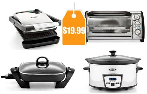 bella kitchen appliances bella kitchen appliances panini grill waffle maker rocket blender or electric skillet 9 99