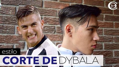 Como Es El Corte De Pelo De Dybala Del 2016 Resultados De La | dybala corte de cabello y peinado dybala haircut and