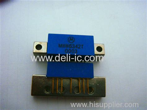 Bgy588n Ic Module Catv Lifier mhw6342tn catv lifier module freescale semiconductor inc from china manufacturer deli