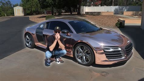audi r8 tanner he let me drive his audi r8 ft tanner braungardt youtube