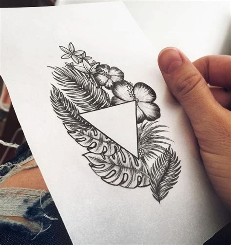 tropical tattoos designs best 25 tropical ideas on tropical