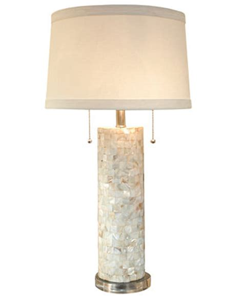 of pearl table l andrew of pearl column table l lighting