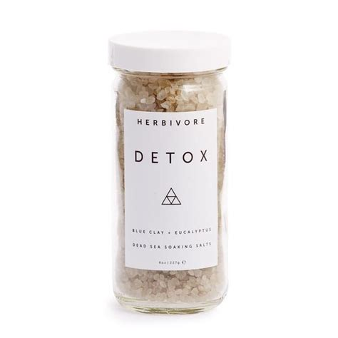 Detox Bath Ingredients by Herbivore Botanicals Follain
