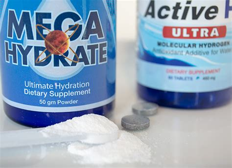 active h supplement hydrogen supplements active h2 ultra and megahydrate