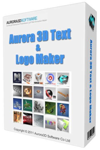 full logo maker free download aurora 3d text and logo maker free download full version