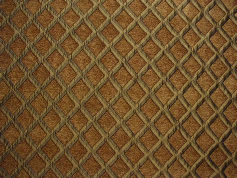 brown upholstery fabric diamond lattice chenille upholstery fabric brown ebay