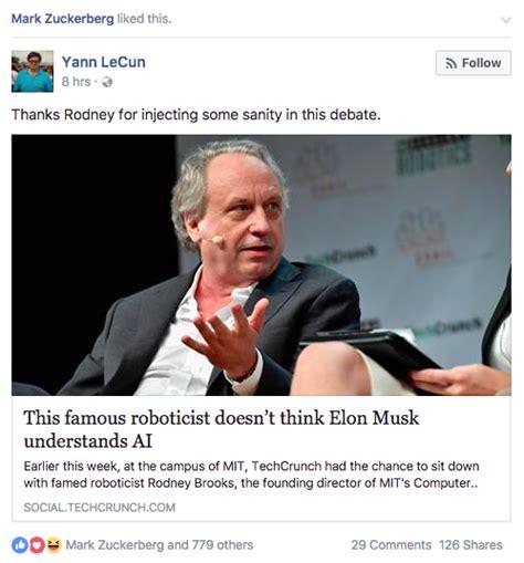 elon musk vs mark zuckerberg ai elon musk and mark zuckerberg are currently trolling each