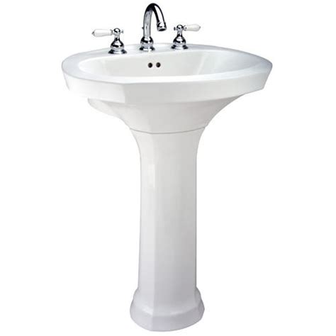 Menards Pedestal Sinks by Mansfield Montclair Pedestal Bathroom Sink Single