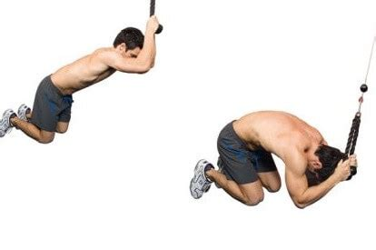 for weight cable crunches exercises for for weight