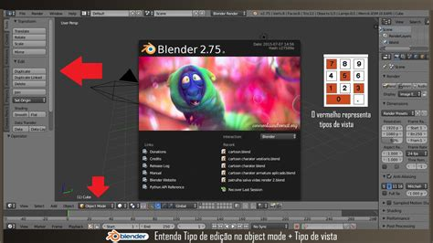 tutorial blender portugues tipo de edi 231 227 o no object tutorial de blender em portugu 234 s