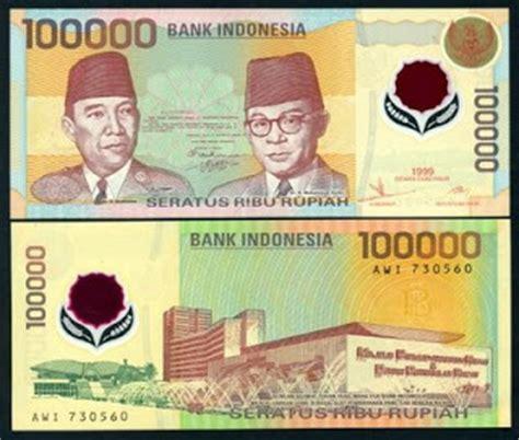 Uang Lama 20 Ribu Rupiah Tahun 1998 ridwan hanafi sejarah mata uang rupiah dan gambar mata