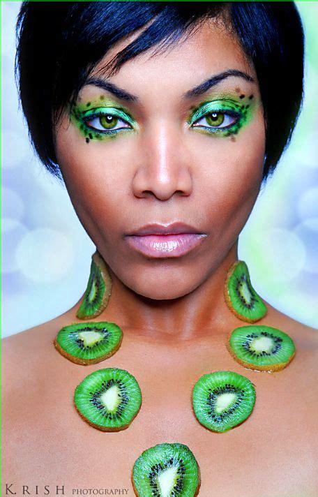 google amazing makeup can you say amazing interpretation of the kiwi in the makeup makeup