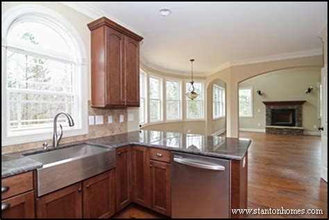 kitchens without islands new home building and design home building tips