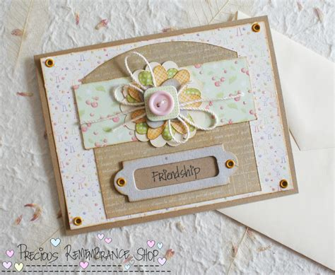 how to make a friendship card cardmaking tutorials on