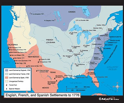 map of usa 1776 and settlements in america