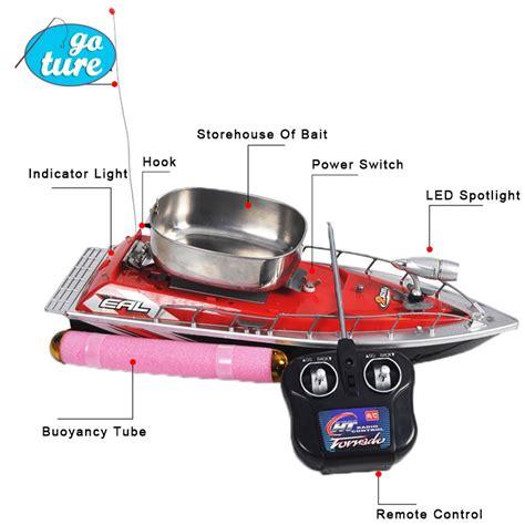 fishing boat remote control f100 high speed mini rc boat remote control fishing bait