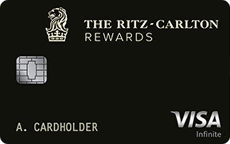 carolton cards ritz carlton credit card