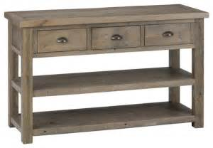 80 Inch Console Table Jordan Sofa Table Reclaimed Pine Traditional Console
