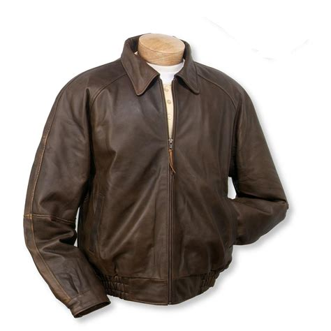 leather jacket burk s bay distressed classic leather jacket brown 408565 insulated jackets coats