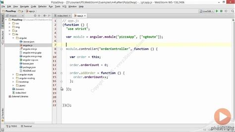javascript tutorial for experienced programmers دانلود pluralsight webstorm fundamentals آموزش نرم افزار