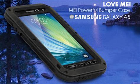 Samsung A3 2016 Mei Powerful Casing Cover Bumper Keren mei powerful samsung galaxy a5 2015 bumper protective