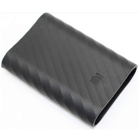 Silicon Cover For Xiaomi Powerbank 10000mah Silikon Power Bank silicon cover for xiaomi power bank 10000mah oem black jakartanotebook