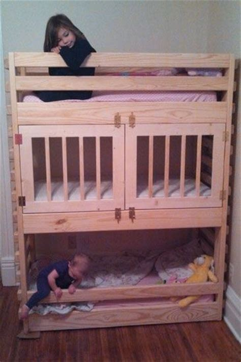 how to build a loft bed for kids 25 best ideas about bunk bed crib on pinterest small