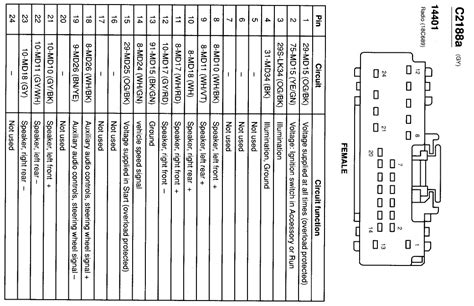 2002 ford focus svt wiring diagram wiring diagram