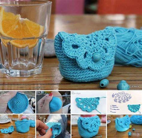 pattern crochet pouch wonderful diy crochet little kids handbag with free pattern