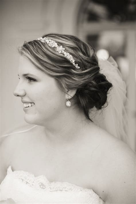 Wedding Hairstyles With Veil And Headband by Wedding Updos With Veil And Headband Fade Haircut