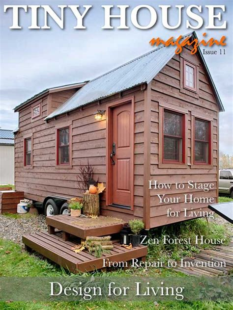 tiny house magazine the tiny life