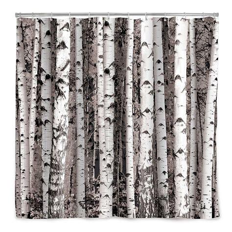 Birch Tree Shower Curtain » Home Design 2017
